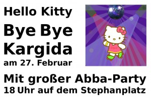 HelloKittyByeByeKargidaParty am 27_02